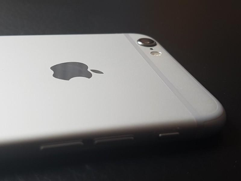 Das Foto zeigt ein Apple Smartphone.