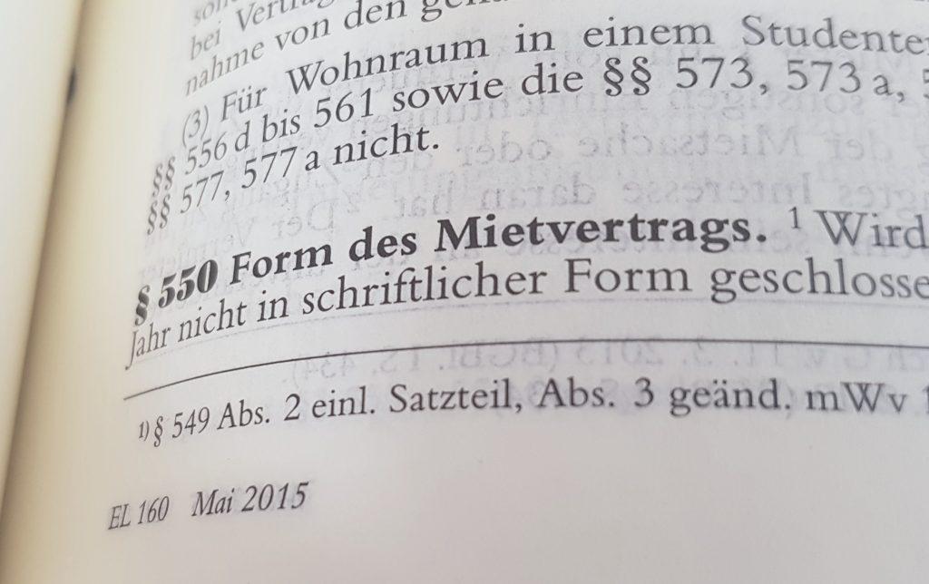 Stempel Ersetzt Fehlende Unterschrift Schriftform Gewahrt 550